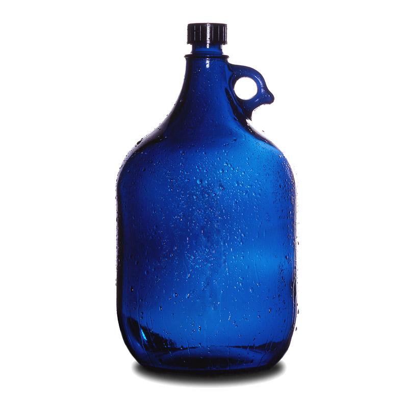 Modrá láhev na vodu - Pro ochranu Vaší vody